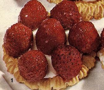 טורטלטים של תות שדה  >>>מאסטר מתכונים