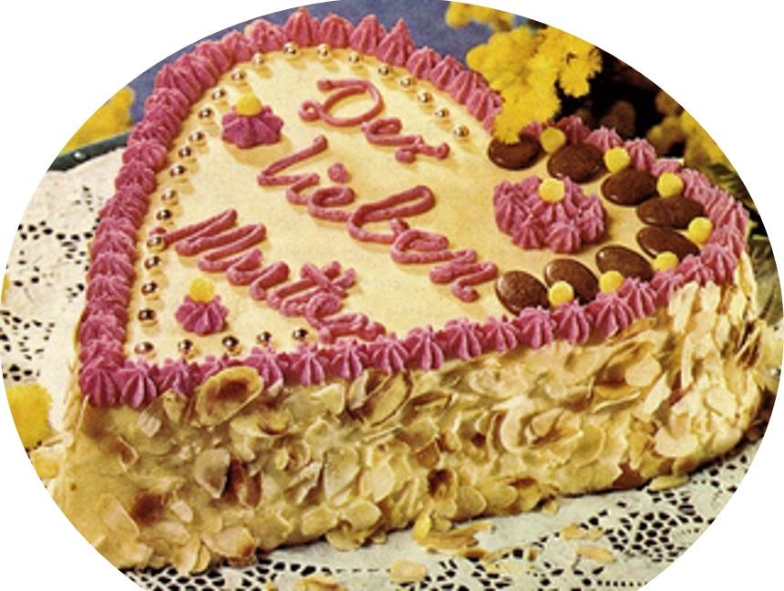 עוגת לב ליום האם>>>מאסטר מתכונים
