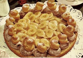 עוגת בננות >>>מאסטר מתכונים