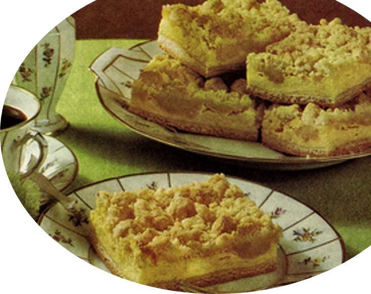עוגת גבינה עם פירורים>>>מאסטר מתכונים