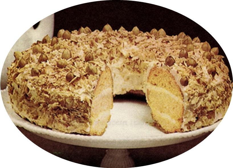 עוגת זר מפרנקפורט>>>מאסטר מתכונים