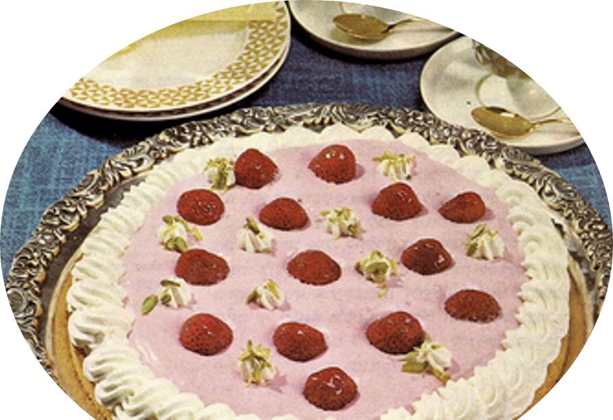 עוגת תות שדה מצופה