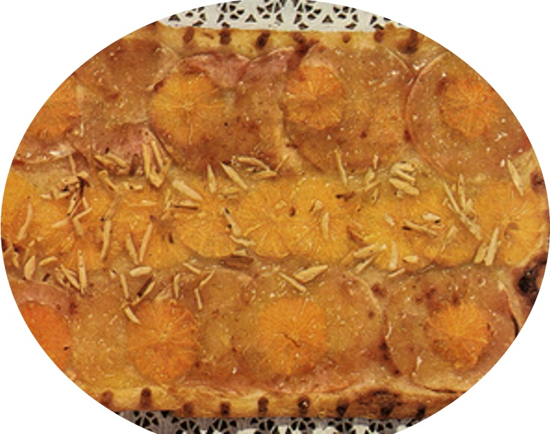 עוגת תפוחים ותפוזים