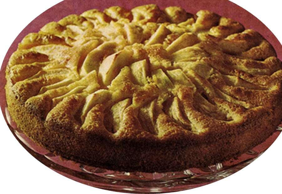 עוגת תפוחים חגיגית>>>מאסטר מתכונים