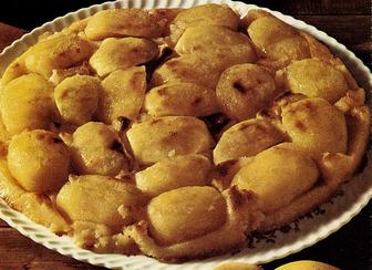 עוגת תפוחים צרפתית