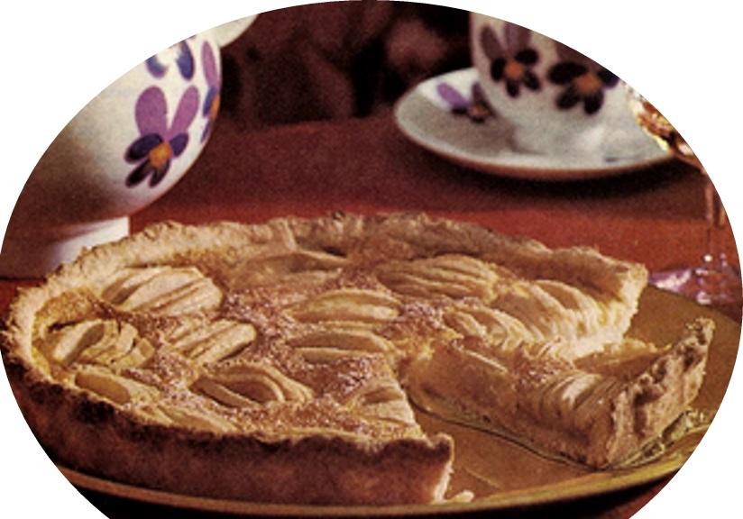 עוגת תפוחים נוסח אלזס>>>מאסטר מתכונים