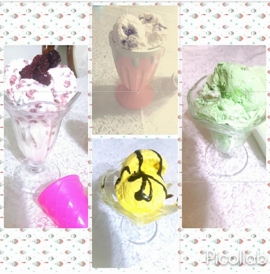 גלידה ביתית במבחר טעמים