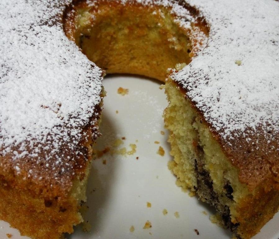 עוגת שיש ללא הפרדת ביצים רכה וטעימה