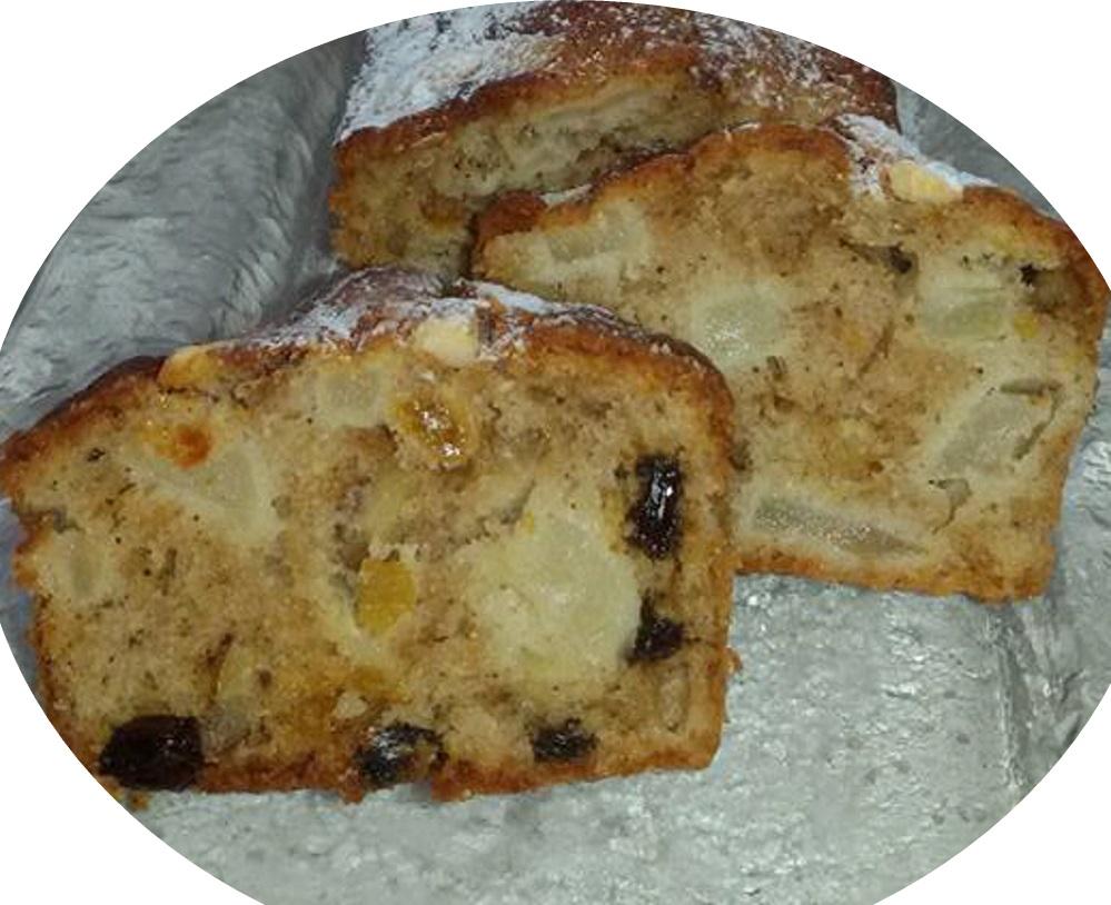 עוגת תפוחים עם קינמון אגוזים וצימוקים..הטעם והרייח משגע